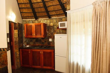 Badplaas, A Forever Resort | Holiday destination near eManzana and Carolina | leisure, corporate, conference, weddings, hotel, accommodation, health hydro, spa, water park | Mpumalanga | South Africa: 2-Sleeper Rondavel. Open plan (1 double bed)