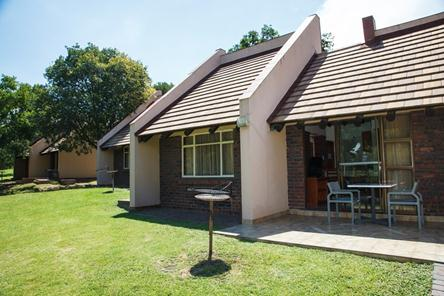 Badplaas, A Forever Resort | Holiday destination near eManzana and Carolina | leisure, corporate, conference, weddings, hotel, accommodation, health hydro, spa, water park | Mpumalanga | South Africa: 2-Sleeper Chalet. 1 bedroom (1 double bed)